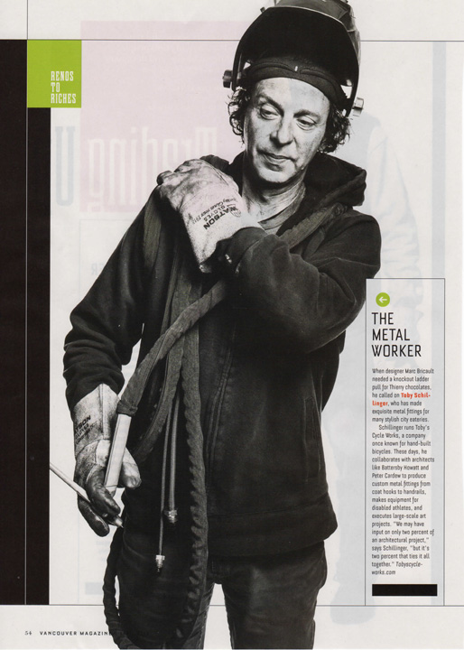 Vancouver Magazine April 2014